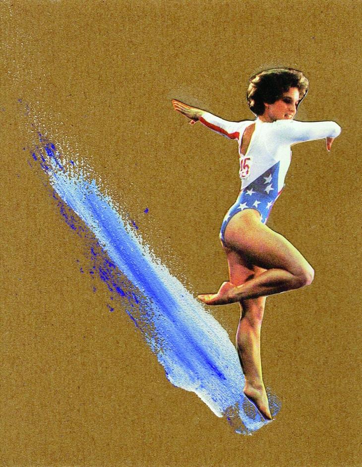 © Carla Aguinaga - A touch of magic | Collage manual | Burgos (España)