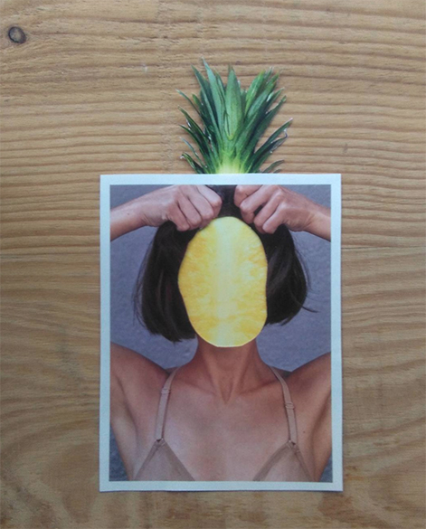 © Adriana Gurumeta - Collage tropical