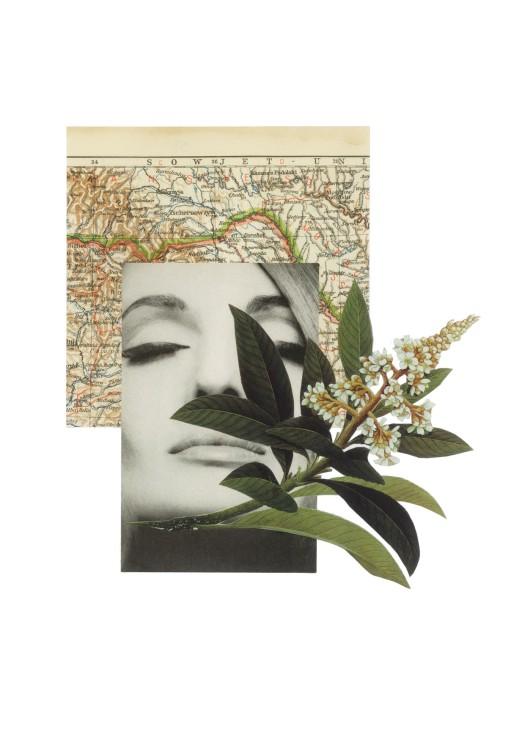 © Soraia Aguirre Egido - Esa mujer | Collage analógico | Turín (Italia)