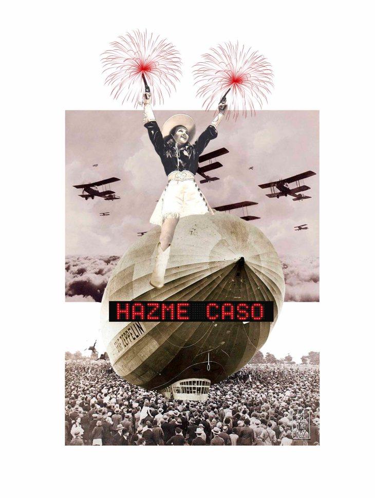 © Patricia Cruz Parrilla - Hazme caso | Collage digital| Valdepeñas, Ciudad Real (España)
