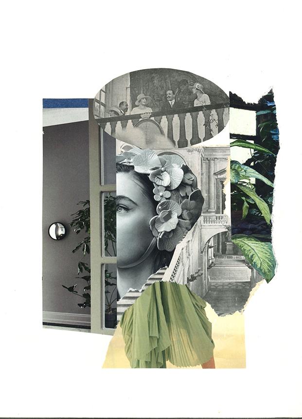 © Sonia Campo | Collage analógico| A Coruña (España)