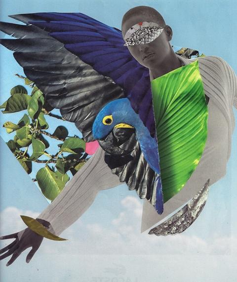 © Tatiana Boria Librelato -Abre as asas sobre nós | Collage analógico | São Paulo (Brasil)