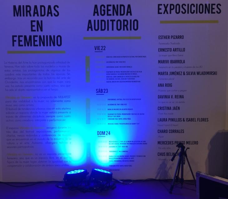 © annitaklimt - Programación Miradas en Femenino en Mulafest 2018