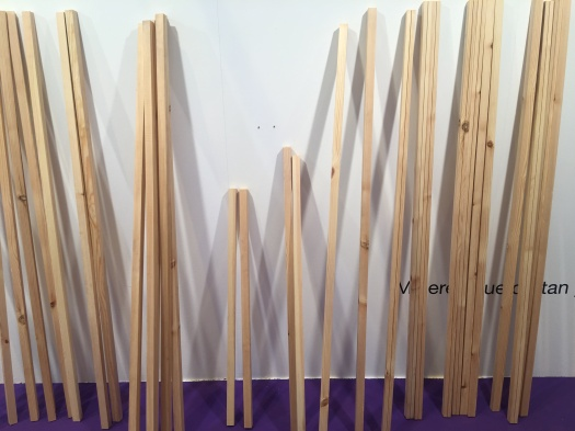 © Natalia Romay - Desmontaje exposición Mujeres que cortan y pegan en MULAFEST 2018