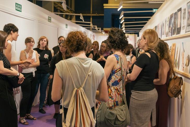 © Natalia Romay - Durante la visita comentada organizada por Cultura Viva Madrid