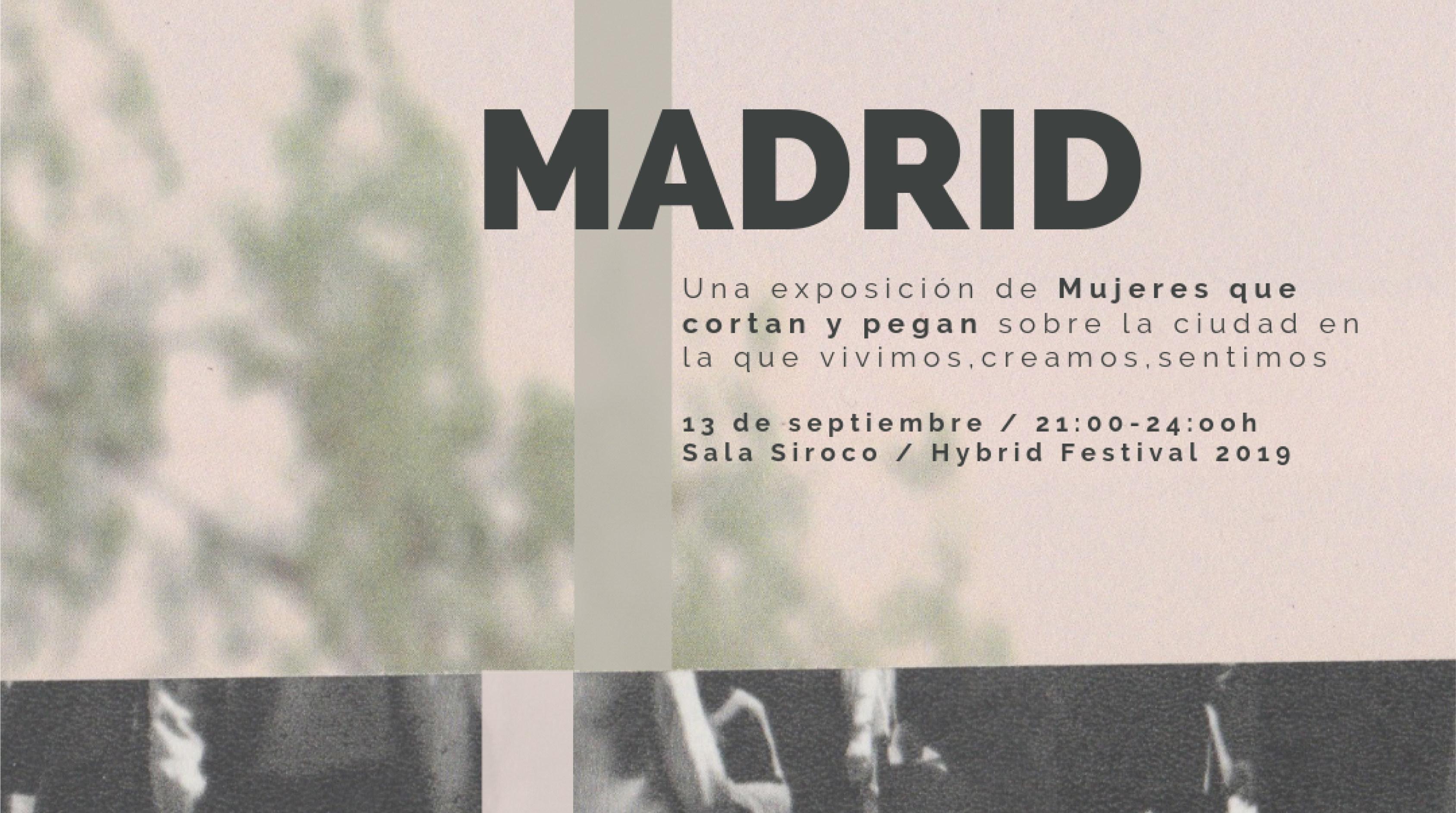 Madrid, exposición colectiva en Siroco para Hybrid Festival 2019
